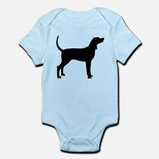 Coonhound Dog (#2) Infant Bodysuit