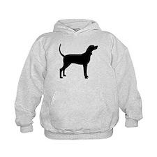 Coonhound Dog (#2) Hoodie