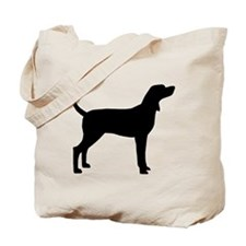 Coonhound Dog (#2) Tote Bag