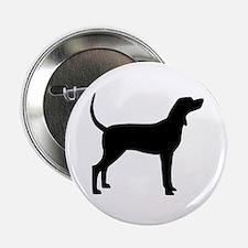 """Coonhound Dog (#2) 2.25"""" Button"""