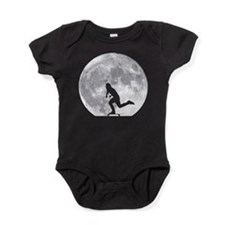 Moon Pushing Baby Bodysuit