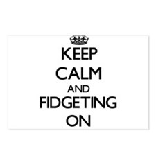 Keep Calm and Fidgeting O Postcards (Package of 8)