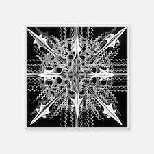 "Symmetry, a Diatom by Ernst Square Sticker 3"" x 3"""