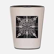 Symmetry, a Diatom by Ernst Haeckel Shot Glass