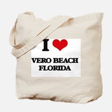 I love Vero Beach Florida Tote Bag