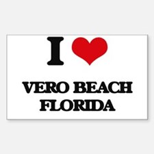 I love Vero Beach Florida Decal