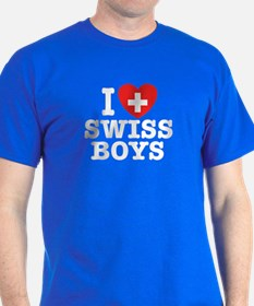 I love Swiss Boys T-Shirt