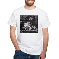 french paris vintage bike T-Shirt