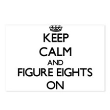 Keep Calm and Figure Eigh Postcards (Package of 8)
