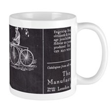 french paris vintage bike Mugs
