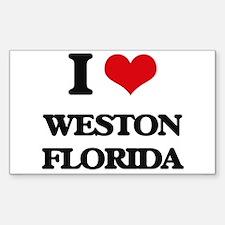 I love Weston Florida Decal