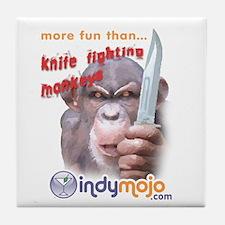 (Knife Monkeys) Tile Coaster