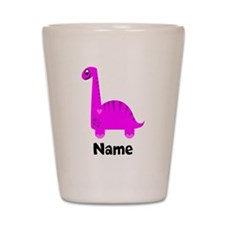 Pink Dinosaur (p) Shot Glass