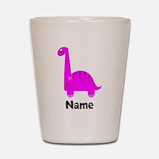 Pink Dinosaur (p) Shot Glass