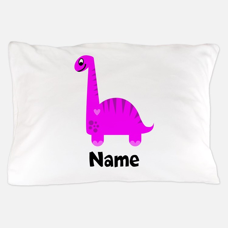 Pink Dinosaur Duvet Covers, Pillow
