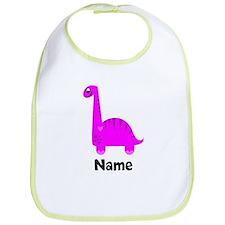 Pink Dinosaur (p) Bib
