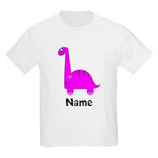 Pink Dinosaur (p) T-Shirt