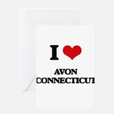 I love Avon Connecticut Greeting Cards