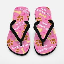 Thai Ridgeback Dog Mom Flip Flops