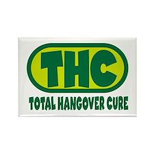 THC - Green logo Rectangle Magnet