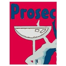Prosecco, Red Poster