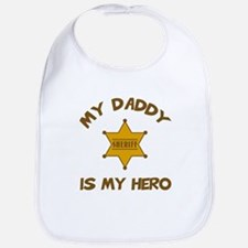 Cute Funny baby police officer Bib