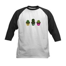 Cactuses in pots Baseball Jersey