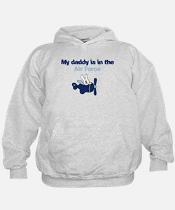 Airplane Bunny - My Dad is in the Airf Hoodie