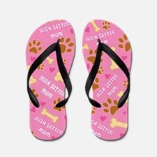 Irish Setter Dog Mom Flip Flops