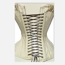 Corset from the 19th Cent Postcards (Package of 8)