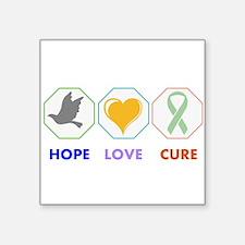 Hope Love Cure Sticker