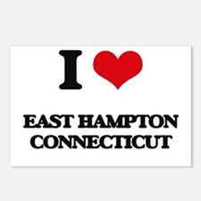 I love East Hampton Conne Postcards (Package of 8)