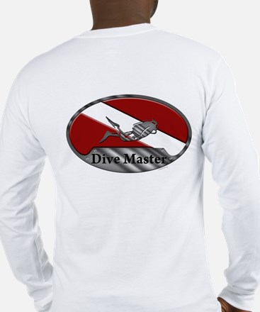 Dive Master (Oval) Long Sleeve T-Shirt