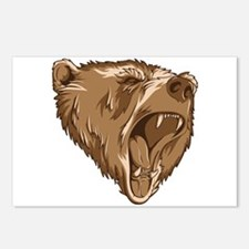 Roaring Bear Postcards (Package of 8)