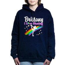 SKATING PRINCESS Women's Hooded Sweatshirt