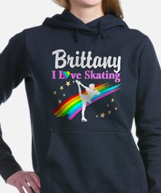 SKATING PRINCESS Women's Hooded Sweatshirt