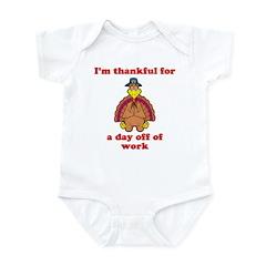 Day Off Infant Bodysuit