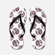 WINE & GRAPES Flip Flops