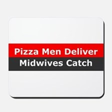 Midwives Catch Mousepad