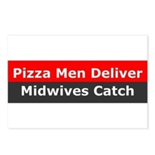 Midwives Catch Postcards (Package of 8)