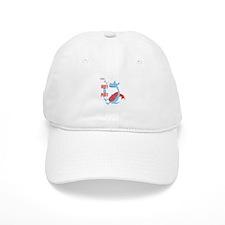 Huff & Puff Baseball Baseball Cap