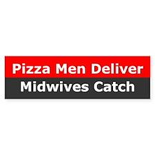 Midwives Catch Bumper Bumper Sticker
