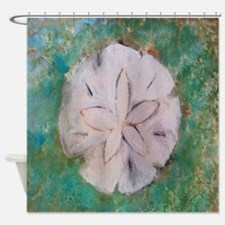 Sand dollar sea shell Shower Curtain