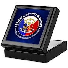 The Philippines (rd) Keepsake Box