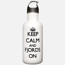 Keep Calm and Fjords O Water Bottle