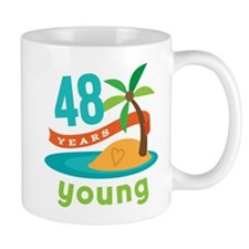 48th Birthday Hawaiian Mug