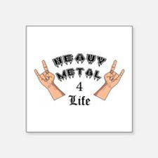 Heavy Metal 4 Life Sticker