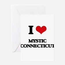 I love Mystic Connecticut Greeting Cards