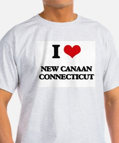 I love New Canaan Connecticut T-Shirt