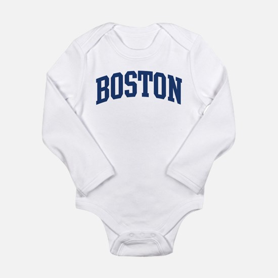 BOSTON design (blue) Infant Bodysuit Body Suit